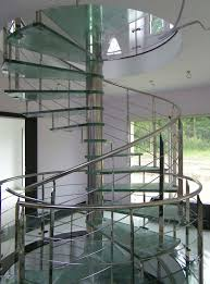 Glass Staircase Design Interior Amazing Image Of Indoor Spiral Staircase Design Using
