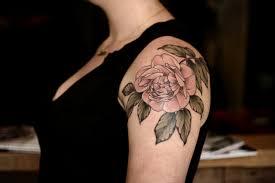 rose rose tattoo flower tattoo artists on pink flower