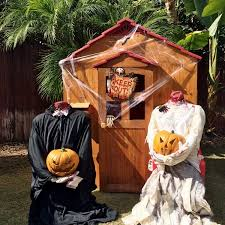 Pictures Of Halloween Outdoor Decorations by Scary Outdoor Halloween Party Decorating Ideas Diy Inspired