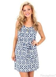that summer feeling navy nautical shift dress monday dress