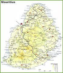 Mauritius World Map by Mauritius Island Map