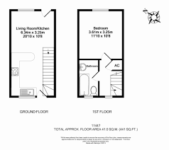 bed 1 bedroom house floor plans