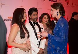 video royal couple william and kate meet bollywood film stars in