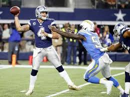 nfl rivers chargers beat fading cowboys on thanksgiving