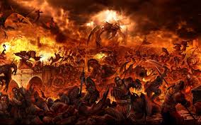 Wild Fire Vs Dragon Fire by The Devil Offers A Warm Place In Hell For Anyone Tired Of Winter