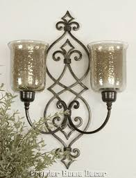 Tuscan Candle Wall Sconces 153 Best Candle Holders Images On Pinterest Wrought Iron