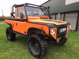 modified land rover land rover defender 90 pickup modified 4x4 in southwell