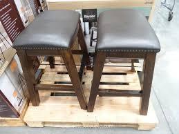 Outdoor Bar Stools Costco Bayside Furnishings Dana Saddle Barstools