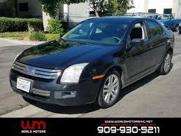2007 ford fusion se 2007 ford fusion i 4 se 4dr sedan in ontario ca motors inc