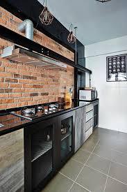 Kitchen Design Hdb 10 Trendy Kitchens Of Hdb Flat Homes Home U0026 Decor Singapore