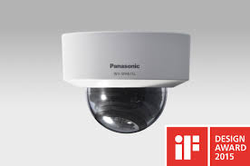 panasonic dome network camera won if design awards 2015 aveasia