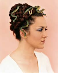 Medusa Hair Costume | medusa hair martha stewart