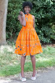 orange dress tye dye dress orange dress cotton dress casual