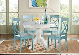 White Dining Room Furniture For Sale - brynwood white 5 pc round dining set dining room sets colors