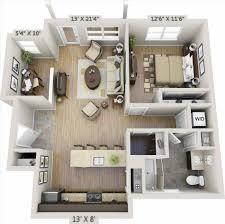 apartment dazzling one bedroom apartment floor plans 3d