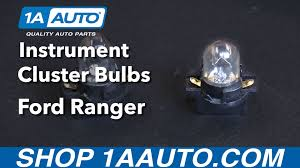 1993 ford ranger xlt parts how to install replace instrument cluster bulbs 1993 03 ford