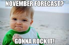 November Meme - november forecast gonna rock it meme success kid original