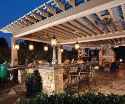 outdoor kitchen design ideas home lighting cool pergola light ideas appealing outdoor kitchen