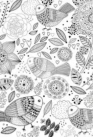 177 best coloring for adults animals images on pinterest