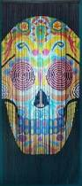 Bamboo Door Beads Curtain by Bamboo Door Curtain With Sugar Skull Scene Products Pinterest