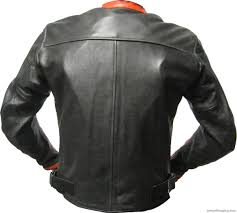 Genuine Custom Made Leather Motorcycle Jacket For Stylish Men 431