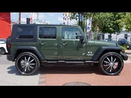 2009 jeep wrangler unlimited x 4wd 26 inch wheels