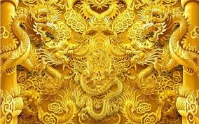 golden china pattern wallpaper mural picture more detailed picture about custom 3d