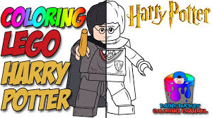 color harry potter lego harry potter coloring