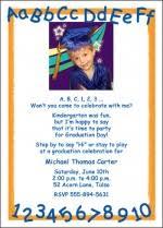 kindergarten graduation announcements unique photo graduation announcements invitations cards