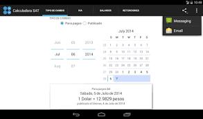 salarios minimos se encuentra desactualizada o con datos erroneos sua calculadora sat aplicaciones de android en google play