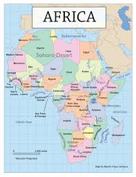 Sub Saharan Africa Map Quiz by Africa Physical Map Quiz Game Images