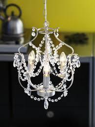 ikea fans kristaller chandelier 3 armed silver colour glass ikea fans