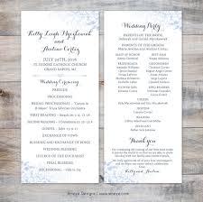 Folded Wedding Programs Pocket Wedding Invites Jeneze Designs