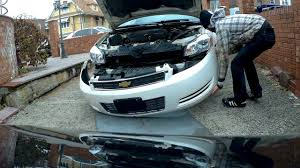 how to remove and install front bumper chevrolet impala youtube