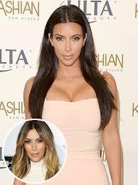 voted best hair dye kim kardashian says kanye likes her better blonde kim kardashian