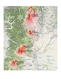 Washington State Wildfire Air Quality by Washington Smoke Information Central Washington Smoke Under