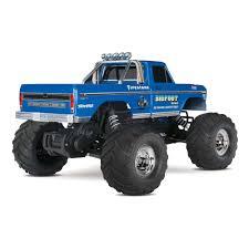 rc bigfoot monster truck traxxas 1 10 bigfoot 1 original monster truck rtr towerhobbies com