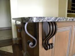 Iron Corbels For Granite Countertops 54 Best Iron Corbels Images On Pinterest Irons Wrought Iron And