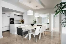 Modern White Dining Table by Dining Room Table Decorating Ideas White Roof Ceiling Light Wooden