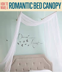 diy bed canopy how to make a romantic bed canopy diy projects craft ideas how