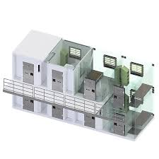 multi storey prefabricated prison cells available as design can be