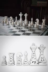 Futuristic Chess Set Frank Gehry Creates A Chess Set For Tiffany For The Home
