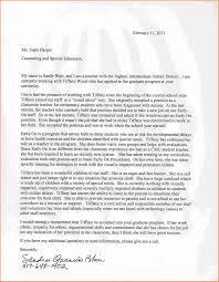 cover letter special education letters of recommendation graduate cover letter database