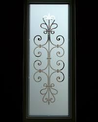 frosted glass entry window ironwork design lovely lovely lovely