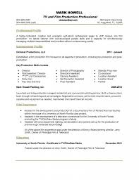 Production Assistant Resume Template Resume Music Production Resume