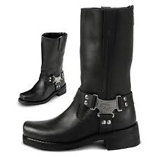 ladies leather biker boots women u0027s milwaukee 10