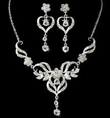 prom necklace beautiful bridal wedding prom couture jewelry set ws8322
