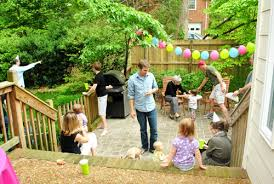 Backyard Birthday Party Ideas First Birthday Party Ideas Rookie Moms