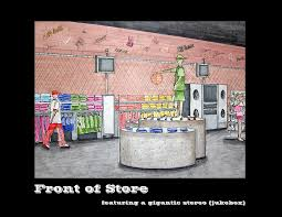 retail design urban clothing store for teens by heather flick at