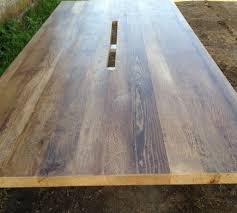 reclaimed oak table top reclaimed wood tables